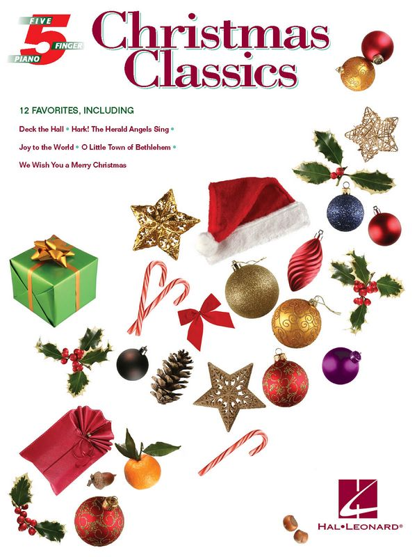 5 Finger Christmas Classics: for piano (with text and optional duet accompaniments)