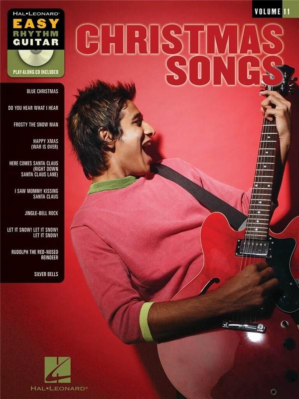 Christmas (+CD): for easy rhythm guitar playalong vol.11 (in tablature)