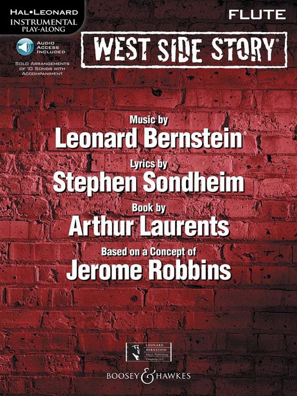 West Side Story - Selections (+CD): for flute