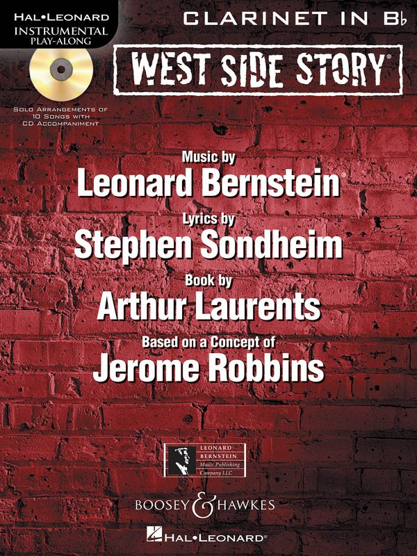West Side Story - Selections (+CD): for clarinet