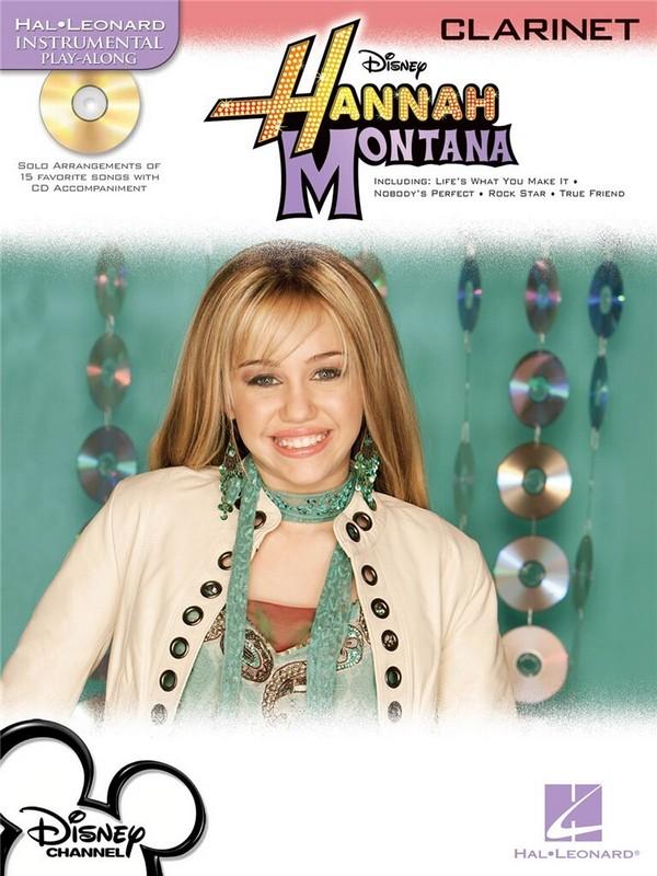 Hannah Montana (+CD): for clarinet