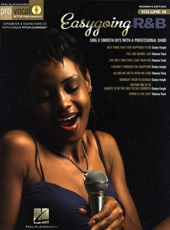 Easygoing R&B (+CD): for female singers songbook vocal/guitar