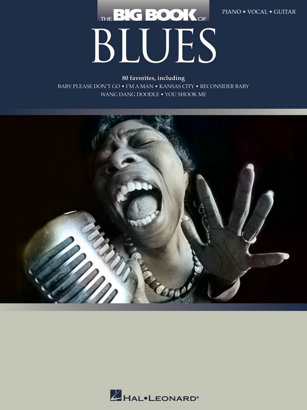 The big Book of Blues: songbook piano/vocal/guitar