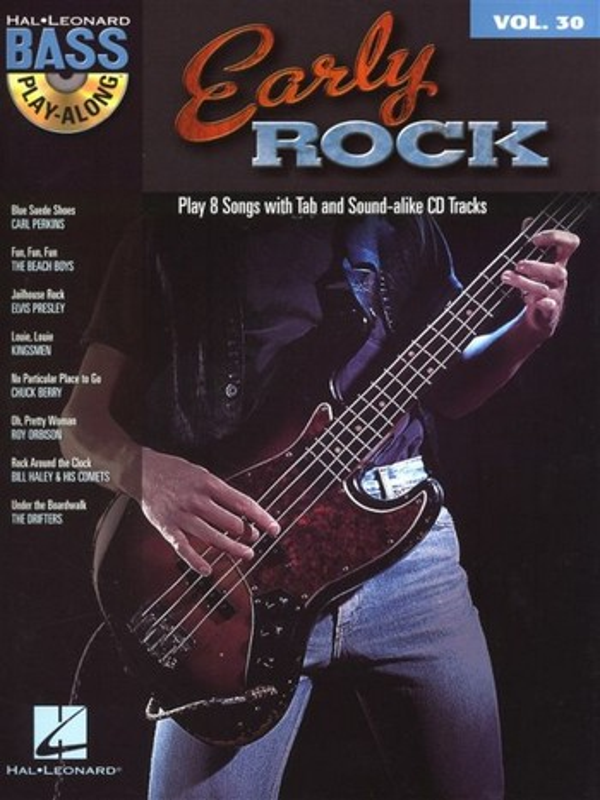 Early Rock (+CD): Bass Playalong vol.30