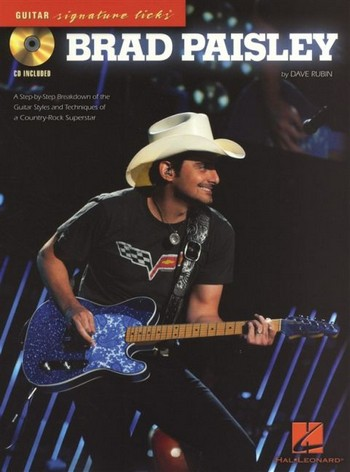 Brad Paisley (+CD): for vocal/guitar/tab Guitar Signature Licks