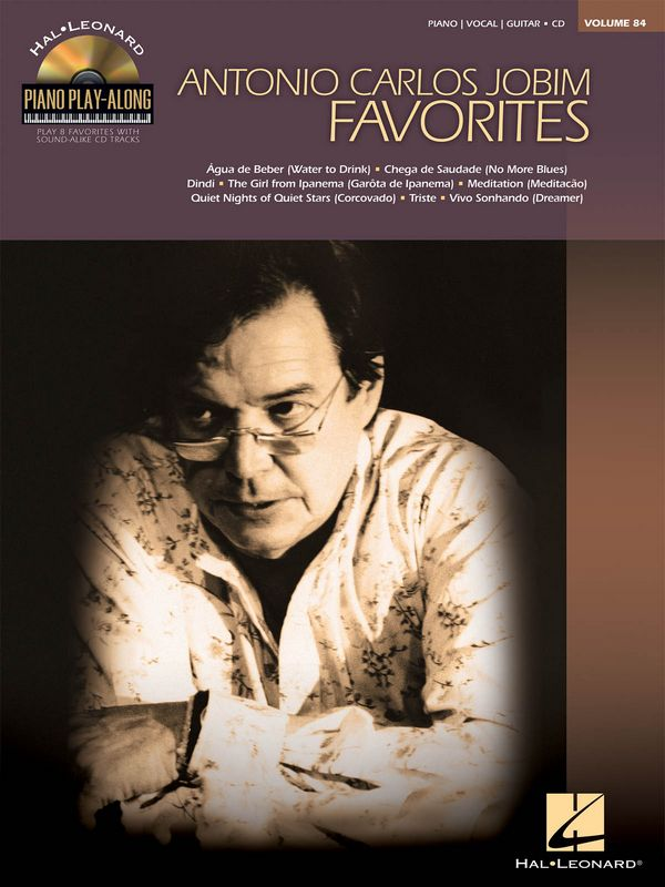 Antonio Carlos Jobim (+CD) songbook piano/vocal/guitar