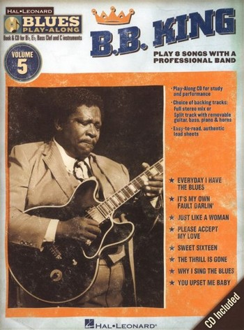 B.B. King (+CD): for Bb, Eb, C and bass clef instruments