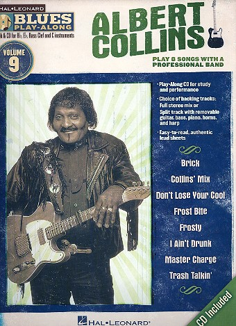 Albert Collins (+CD): for Bb, Eb, C and bass clef instruments