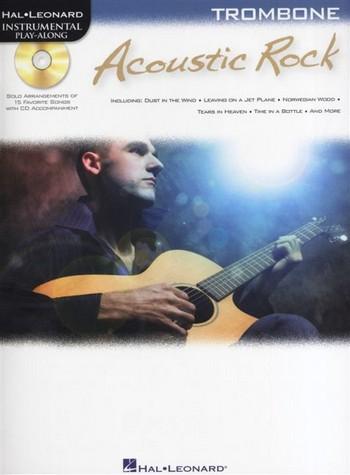 Acoustic Rock (+CD): for trombone Instrumental Play Along