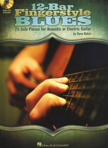12-Bar Fingerstyle Blues (+CD): for guitar/tab