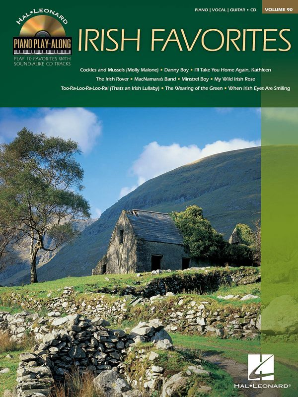 Irish Favorites (+CD): songbook piano/vocal/guitar