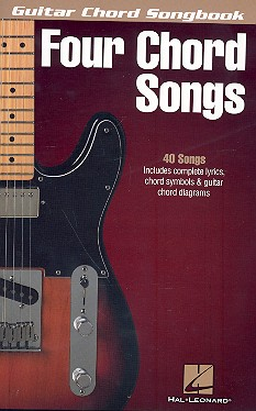 4-Chord-Songs: guitar chord songbook lyrics/chords/guitar boxes
