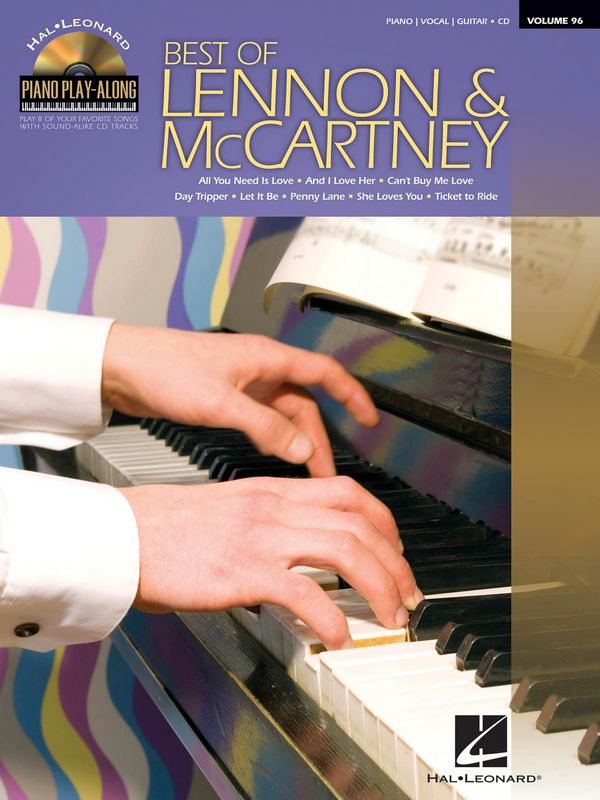 Best of Lennon & McCartney (+CD): songbook piano/vocal/guitar