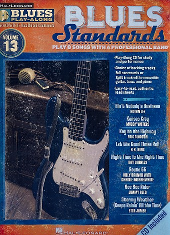 Blues Standards (+CD): for Bb, Eb, C and bass clef instruments