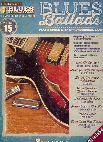 Blues Ballads (+CD): for Bb, Eb, C and bass clef instruments