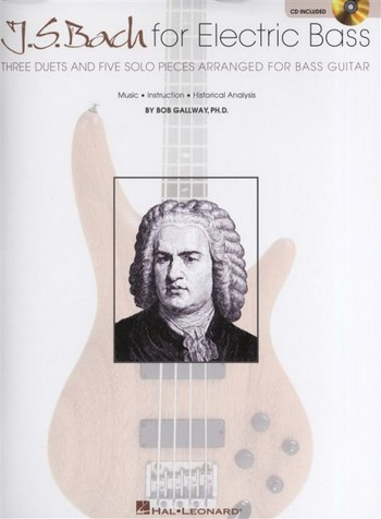 J. S. Bach for Electric Bass (+CD) for bass guitar