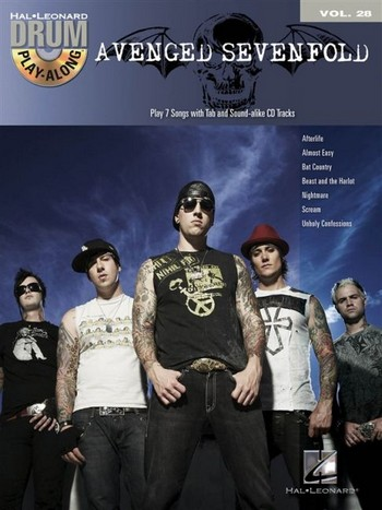 Avenged Sevenfold (+CD): drum playalong vol.28