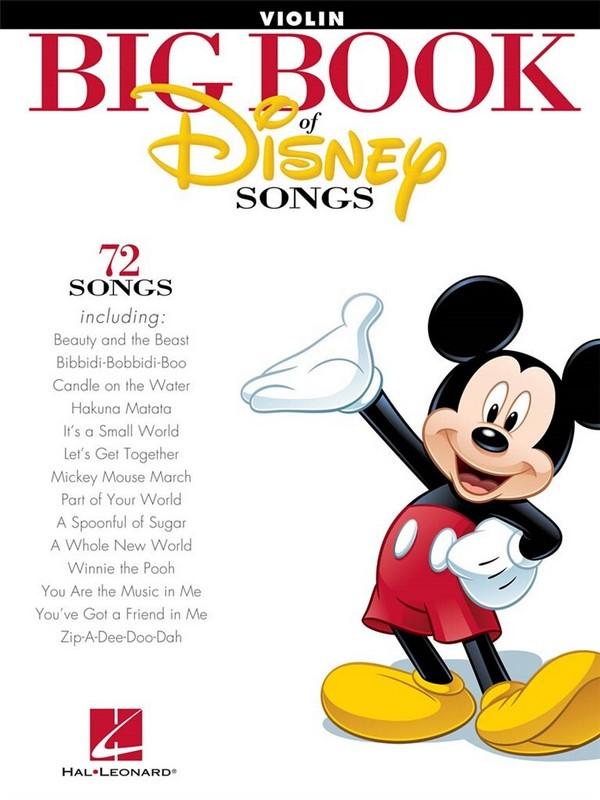 Big Book of Disney Songs: for violin