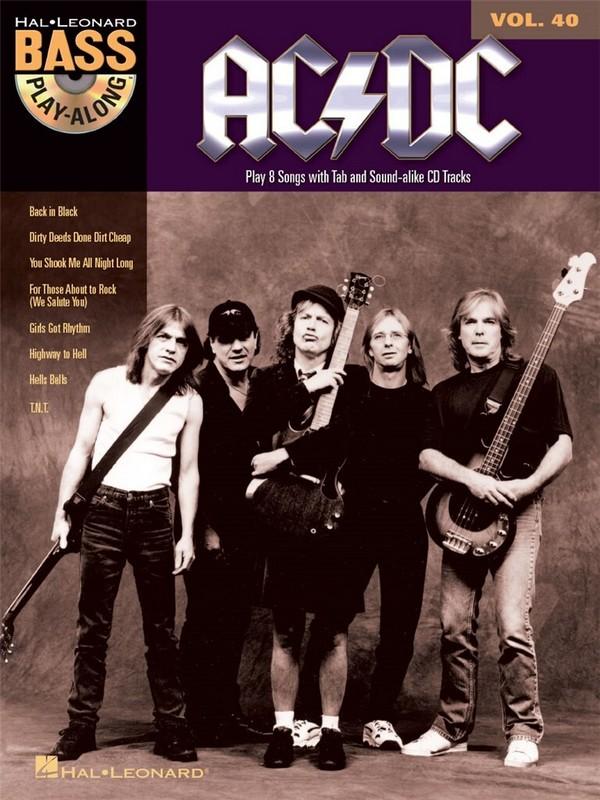- AC/DC (+CD) : Bass Playalong vol.40