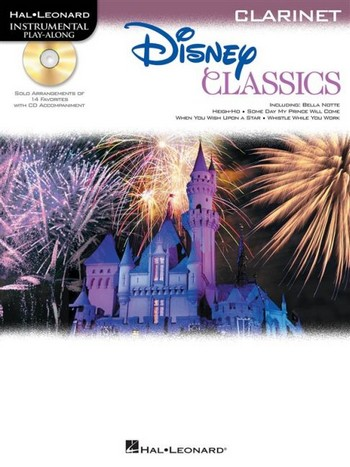 Disney Classics (+CD): for clarinet