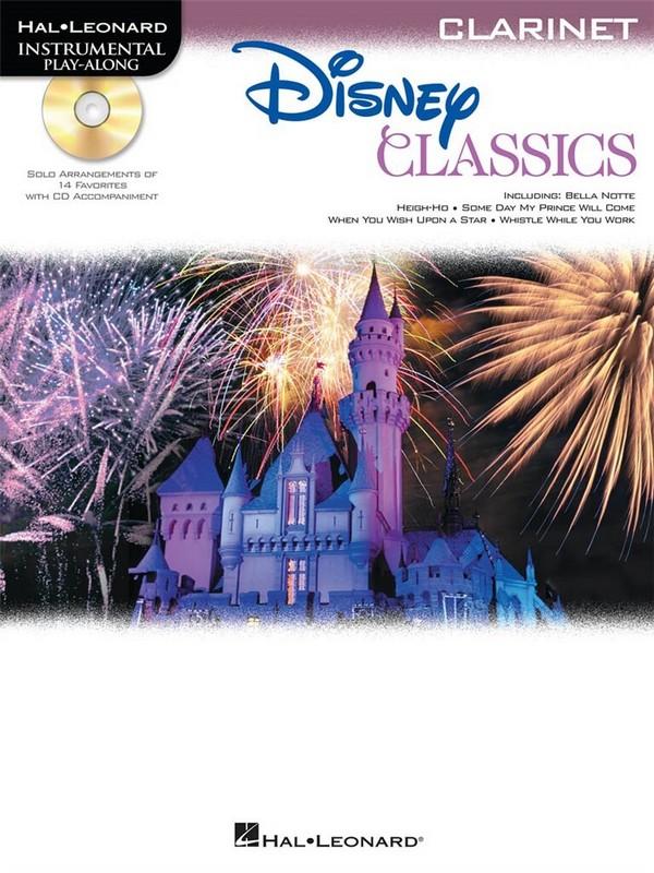 Disney Classics (+CD): for clarinet