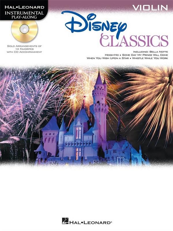 Disney Classics (+CD): for violin