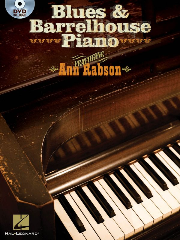 Blues & Barrelhouse Piano (+DVD)