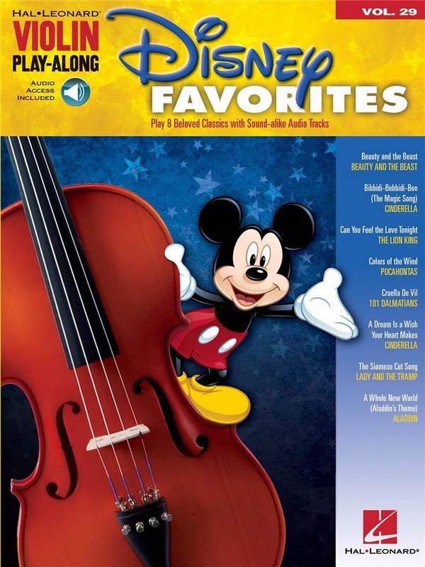 Disney Favorites (+Audio Access): for violin