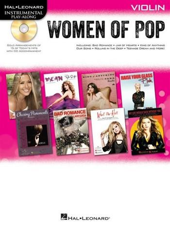 - Women of Pop (+CD) : for violin