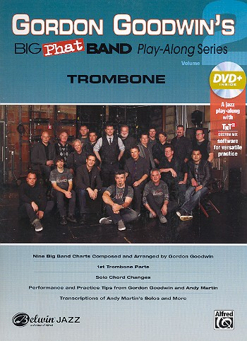 Big Phat Band Playalong vol.2 (+DVD): for big band