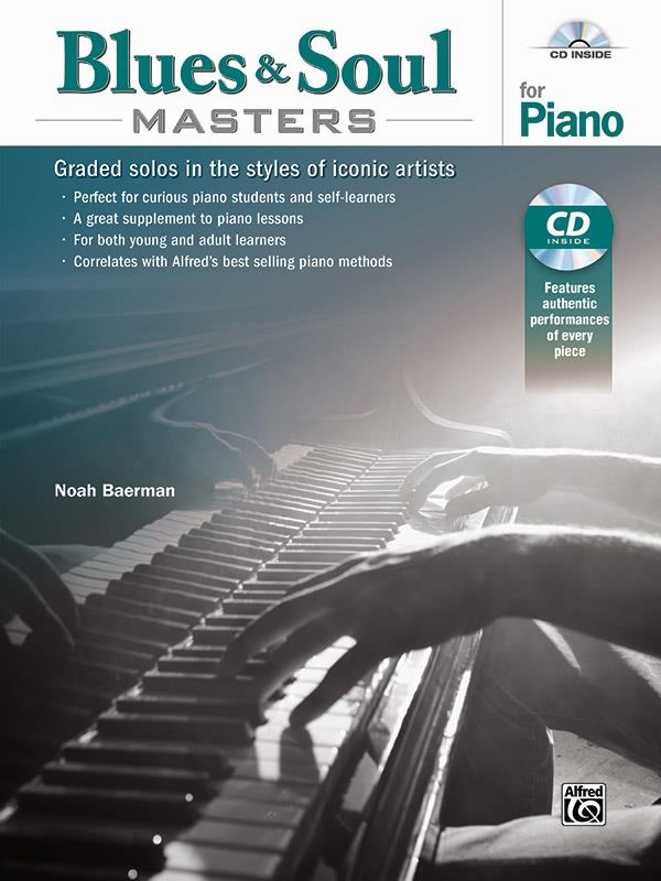 Blues & Soul Masters (+CD): for piano