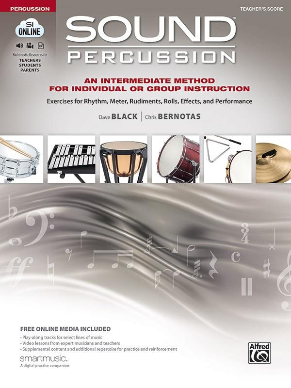 Sound Percussion (+online media): for percussion
