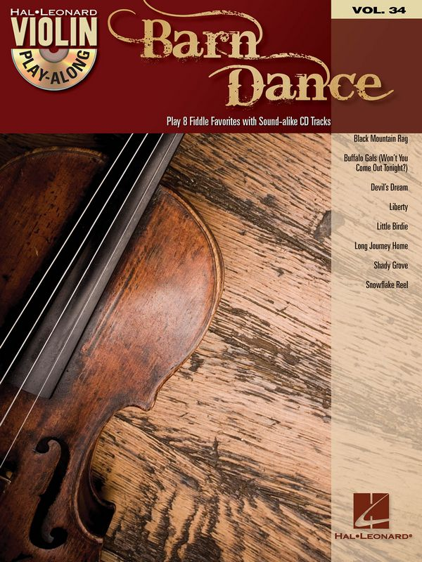 Barn Dance (+CD): for violin