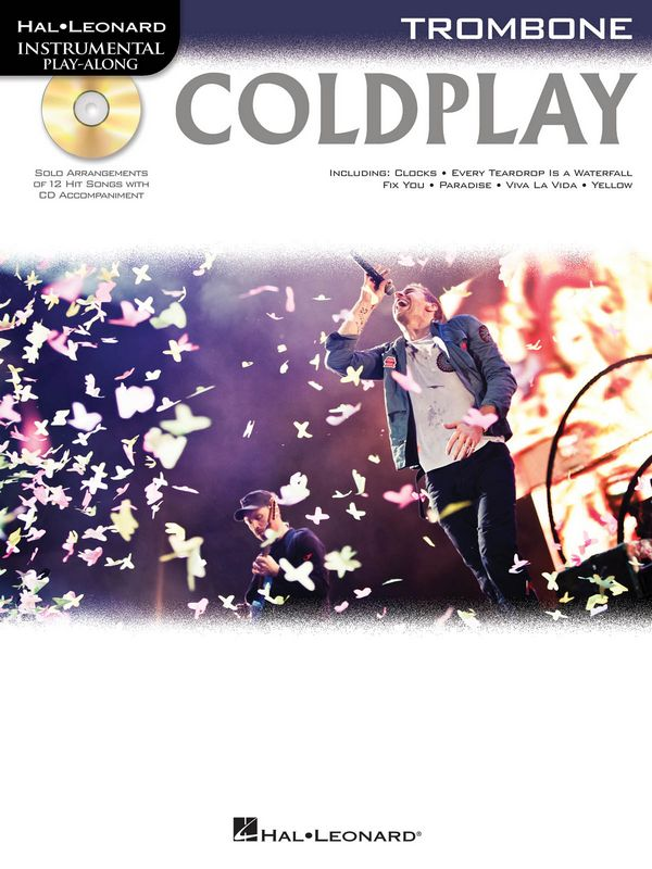 Coldplay (+CD): for trombone