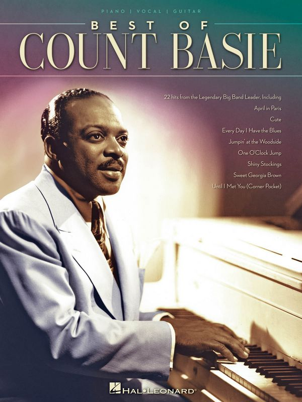Best of Count Basie songbook piano/vocal/guitar
