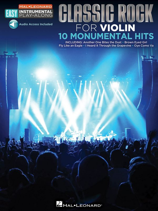 Classic Rock - 10 monumental Hits (+download): for easy violin