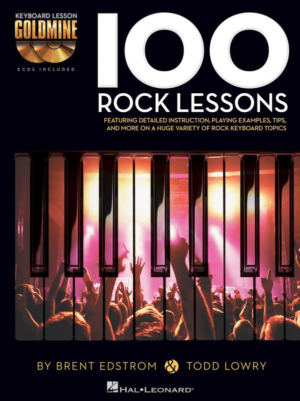 100 Rock Lessons (+2 CD\
