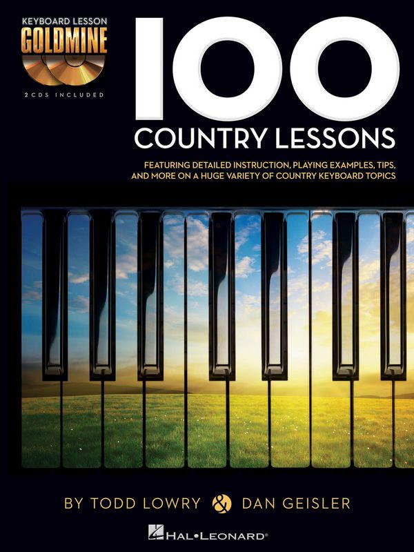 100 Country Lessons (+2 CD\