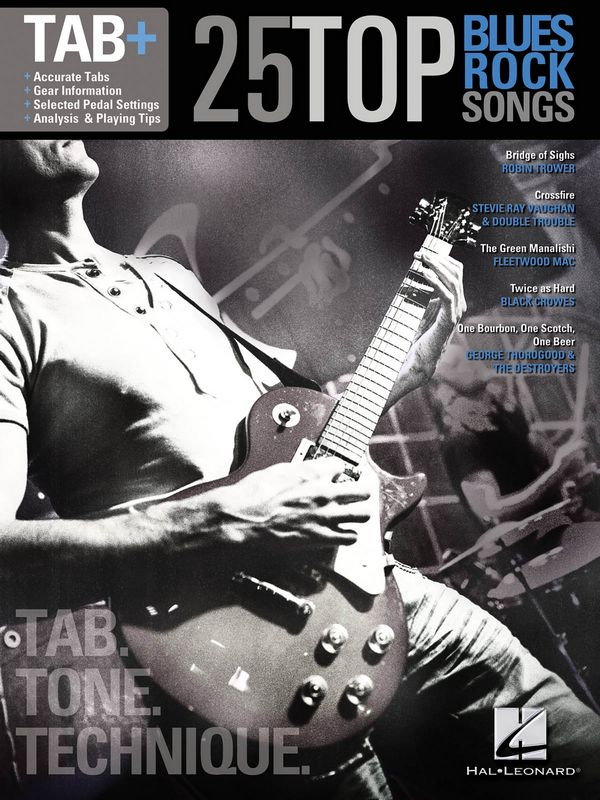 - Tab+ : 25 Top Blues/Rock Songs