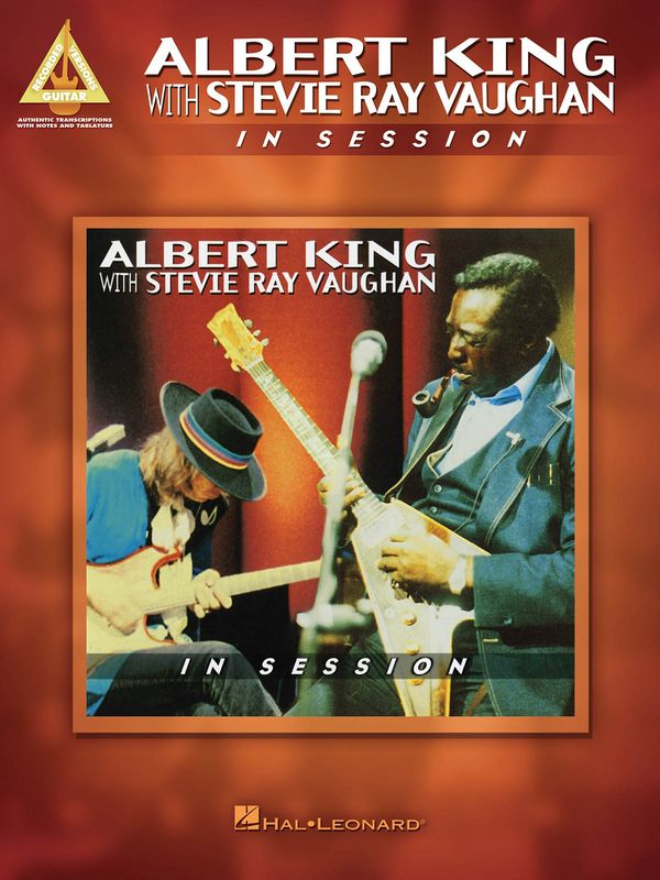 Albert King with Stevie Ray Vaughan: In Session songbook vocal/guitar/tab/rock score