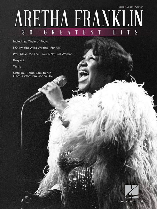 Aretha Franklin: 20 greatest Hits songbook piano/vocal/guitar