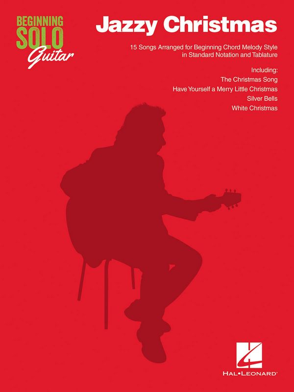 Beginning Solo Guitar - Jazzy Christmas: for guitar /tab (with lyrics)