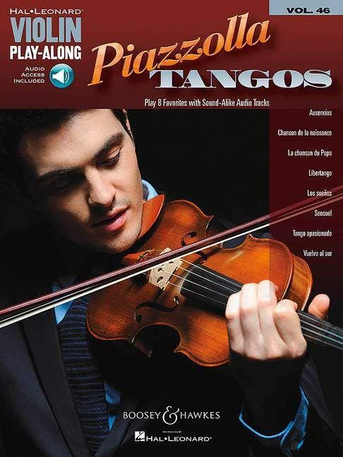 Piazzolla Tangos (+Audio Access): for violin