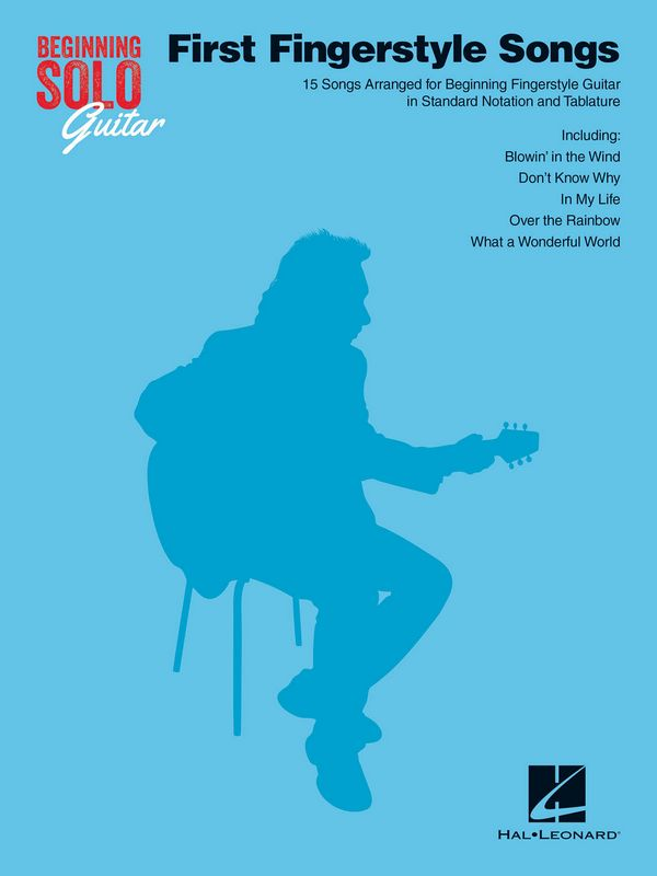 Beginning solo Guitar - First Fingerstyle Songs: for guitar/tab