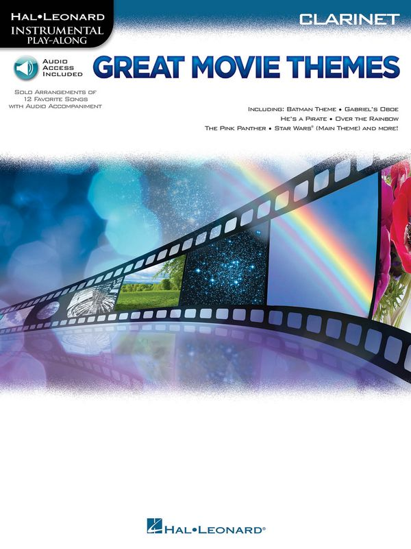Great Movie Themes (+Audio Access): for clarinet