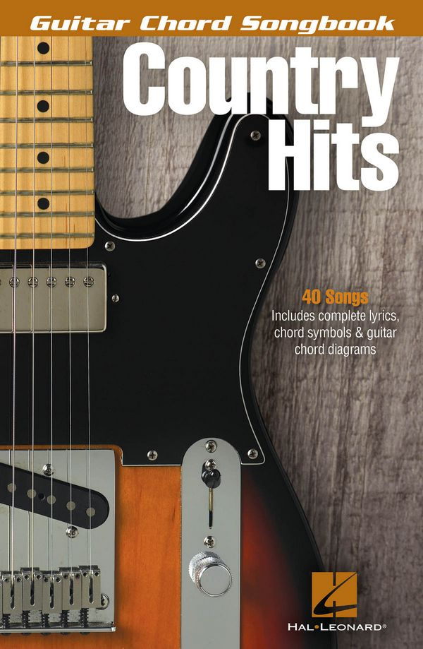 Country Hits: Guitar Chord Songbook songbook lyrics/chord symbols/guitar boxes