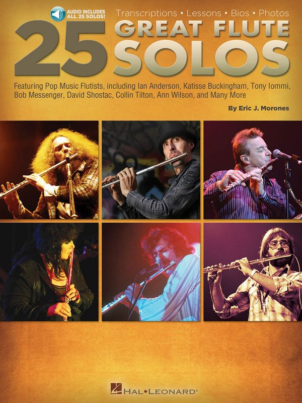 25 great Flute Solos (+Aiudio Online): for flute