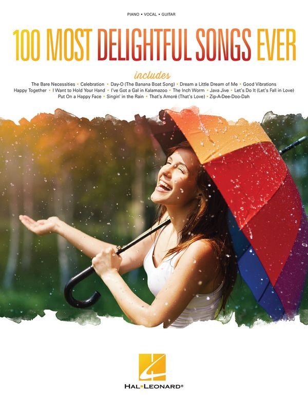 100 most delightful Songs ever songbook piano/vocal/guitar