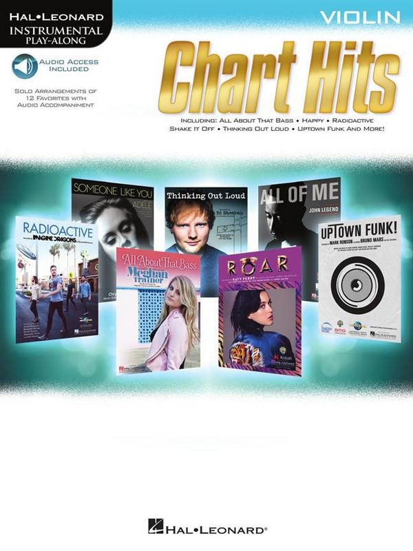 Chart Hits (+Audio Access): for violin