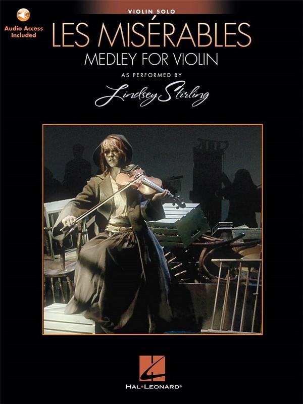 Les Misérables (Medley) (+audio access): for violin